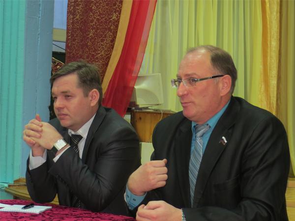 Депутат Законодательного Собрания встретился с жителями Подосиновского района