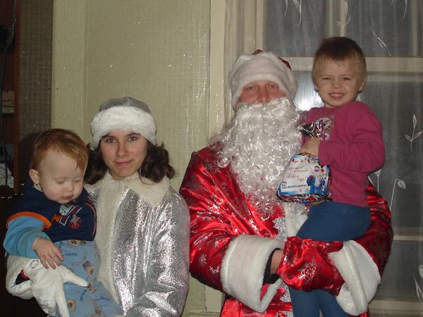 Дед Мороз – «Единоросс